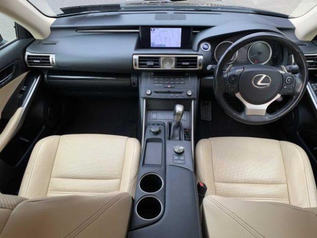 Lexus IS 300h 2016 full