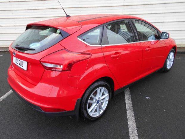 2016 Ford Focus 1.5 TDCI ZETEC 120BHP full