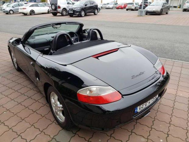 Porsche Boxster 2003 full
