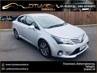 2014 Toyota Avensis 2.0 D4D ICON 4DR//NEW NCT//FINANCE AVAILABLE full